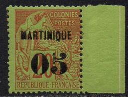 MARTINIQUE / 1886 - 05 SUR 20 ALPHEE DUBOIS - MAURY # 3 ** / COTE 40.00 EUROS (ref 7008e) - Neufs