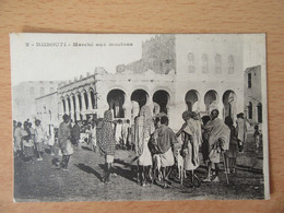 Djibouti N°2 - Marché Aux Moutons - Carte Animée, Non-circulée - Dschibuti