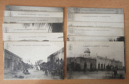 Souvenir De Djibouti - 12 Cartes Postales Dont Fontaine Des Somalis, Marché, Mosquée - Cartes Non-circulées - Dschibuti