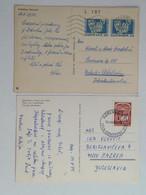 Set Of 2 Postcards 1972 1979 - Cartas