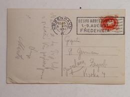Postcard Kobanhavn 5. Aug. 1931 -> ZGB - Briefe U. Dokumente