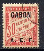 GABON - T5° - TYPE DUVAL - Timbres-taxe