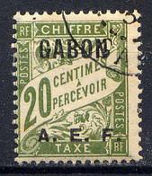 GABON - T3° - TYPE DUVAL - Timbres-taxe