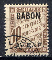 GABON - T2° - TYPE DUVAL - Timbres-taxe
