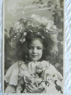 CPA  FILLETTE   Edwardian  Girl - Portraits