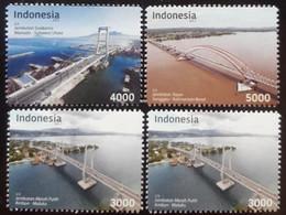 INDONESIA BRIDGE STAMP 2017 - Indonesia