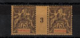 Martinique _ 1 Millésimes 75c_ (1873 ) N°41 Neufs - Neufs