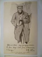 Carte Postale Ancienne Publicitaire Pour L'Album Le Vin MARIANI / Illustration Jules ADLER - Publicité