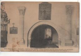 CP ( Saujon - Interieur De L'Eglise - Petite Chapelle Latérale ) - Saujon