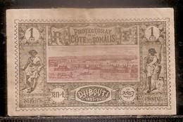 PROTECTORAT DE LA COTE DES SOMALIS SERVICE - DJIBOUTI 1893-94 RF - Non Classés