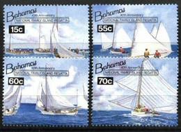 BAHAMAS, 1994, 40TH ANNIVERSARY NATIONAL FAMILY ISLAND REGATTA, YV#821-24, MNH - Bahamas (1973-...)