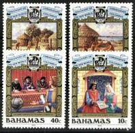 BAHAMAS, 1988, DISCOVERY OF COLOMBO, YV#655-58, MNH - Bahamas (1973-...)