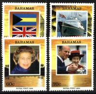 BAHAMAS, 1994, ROYAL VISIT, YV#817-20, MNH - Bahamas (1973-...)