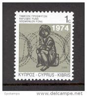 Cyprus 2006 (Vl 902) Special Refugees Fund Stamp MNH - Nuevos
