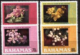 BAHAMAS, 2003, MEDICINAL FLORA, YV#1139-42, MNH - Bahamas (1973-...)
