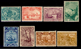 ! ! Azores - 1898 Vasco Gama (Complete Set) - Af. 88 To 95 - MH - Azores
