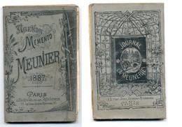 Calendrier 1887 - Agenda-Mémento Du Meunier - Small : ...-1900