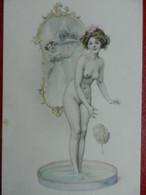 CPA  Erotique  M.M VIENNE  Adorable   FEMME Dénudée  Signé R.R - Autres Illustrateurs