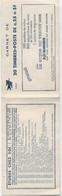 CARNET N°1263 C -3 - 0,25 F Decaris - Definitives
