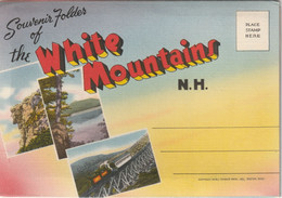 Souvenir Folder Of The White Mountains Of New Hampshire - White Mountains