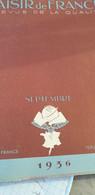 PLAISIR 36/HONFLEUR DELARUE MARDRUS/DETROYAT LINDBERGH/CHIENS DE CHASSE/CHAPEAUX REBOUX VALOIS /LAINE MAURAOIS / - 1900 - 1949