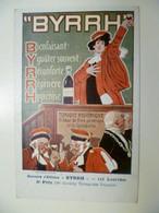 Carte Postale Ancienne Publicitaire BYRRH Concours D'affiches 6ème Prix / TRINQUIER-TRIANON - Publicité