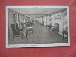 Cunard Line  Aquitania   Long Gallery        Ref  4722 - Dampfer