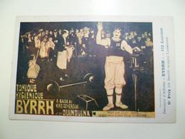 Carte Postale Ancienne Publicitaire BYRRH Concours D'affiches 6ème Prix / LAMBERTON - Publicité
