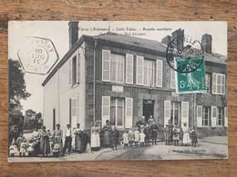 WARCQ-Café-Tabac-Recette Auxiliaire Des Postes- Cachet Très Rare De Warcq - Autres Communes
