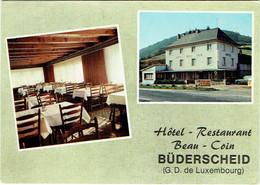 """Luxembourg. Büderscheid. Hôtel-Restaurant """"Beau - Coin"""" - Sonstige"""