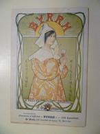 Carte Postale Ancienne Publicitaire BYRRH Concours D'affiches 6ème Prix / H. MOTTEZ - Publicité
