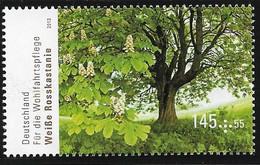 2013 Germany Deutschland  Mi. 2982**MNHBlühende Bäume. :  Weiße Rosskastanie (Aesculus Hippocastanum) - Nuovi