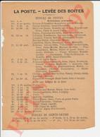 La Poste 1892 Troyes Messagerie Aube Butat Bonnet Au Char D'Or Cochin Hôtel Du Sauvage Coulon Aux Trois Moutons 250/9 - Unclassified