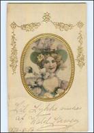 Y10800/ Seide  AK  Jugendstil 1907 - Unclassified