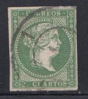 Spain - 1857-60 - 2c - Yv. 42 - Used - Oblitérés