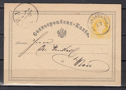 Postkaart Van Grafendorf Naar Wien - Cartas