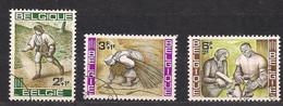 Belgie Belgique 1963 OCBn° 1243-1245 (°) Oblitéré Used Cote 1,25 € - Gebruikt