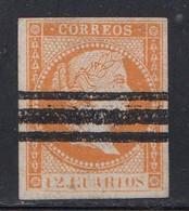 Spain - 1857-60 - 12c - Yv. 44 - Used - Oblitérés