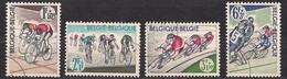 Belgie Belgique 1963 OCBn° 1255-1258 (°) Oblitéré Used Cote 1,50 € Sport Cyclisme Wielrennen - Gebruikt