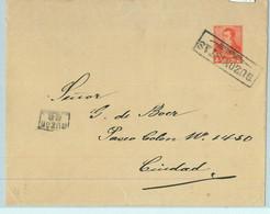 93994 - ARGENTINA - POSTAL HISTORY - STATIONERY COVER Jalil # Sob 33 Buzonista 1892 - Ganzsachen
