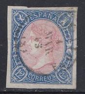 Spain - 1865 - 12c - Yv. 67 - Used - Oblitérés