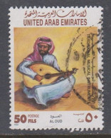 EMIRATOS ARABES UNIDOS USED STAMP, OBLITERÉ, SELLO USADO. - Emiratos Árabes Unidos
