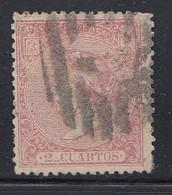 Spain - 1866 - 2c - Yv. 79 - Used - Gebraucht