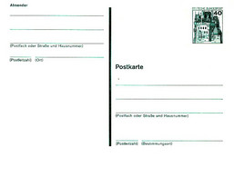GERMANY (WEST) 1970s 40pf Stationery Card Unused - Postales - Nuevos