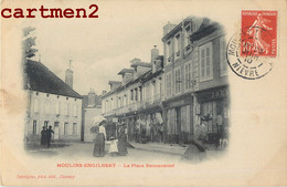 MOULINS-ENGILBERT LA PLACE BOUCAUMONT 58 NIEVRE - Moulin Engilbert