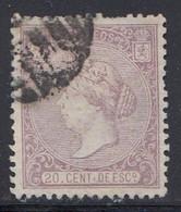 Spain - 1866 - 20c - Yv. 84 - Used - Gebraucht