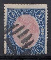 Spain - 1865 - 12c - Yv. 74 - Used - Gebraucht