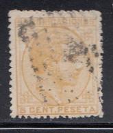 Spain - 1878 - 5c - Yv. 174 - Used - Usados