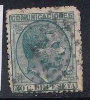 Spain - 1878 - 50c - Yv. 179 - Used - Usados