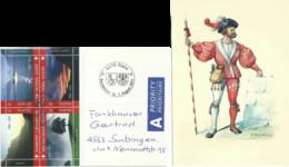 "AK  ""Standesläufer NW/OW""  (Bundesfeier / Landeshymne Block)          2011 - Storia Postale"